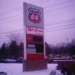 Photo of Pylon Gas Staion Sign