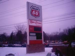 Phillips 66 Pylon Sign